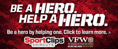 Sport Clips Haircuts of Post Oak​ Help a Hero Campaign